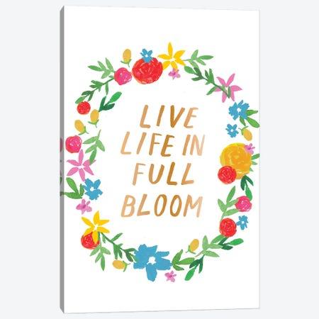 Vibrant Floral III Canvas Print #JSB24} by Jessica Bruggink Canvas Wall Art