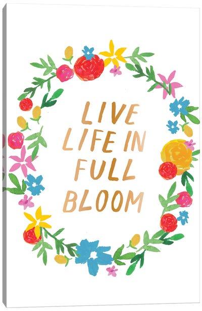 Vibrant Floral III Canvas Art Print