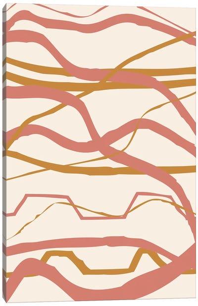 Warm Sunset III Canvas Art Print