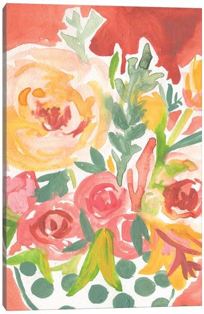 Birthday Blooms Canvas Art Print