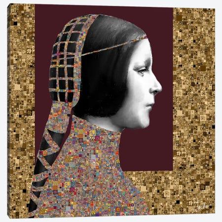 Lady Of Leonardo II Canvas Print #JSC15} by Jose Cacho Canvas Wall Art