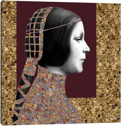 Lady Of Leonardo II Canvas Art Print