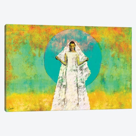 The Bride Of The Sun Canvas Print #JSC26} by Jose Cacho Canvas Print
