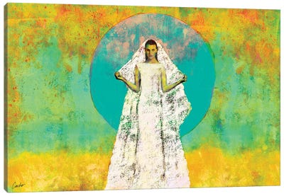 The Bride Of The Sun Canvas Art Print