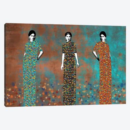 Three Feaces Canvas Print #JSC34} by Jose Cacho Canvas Art