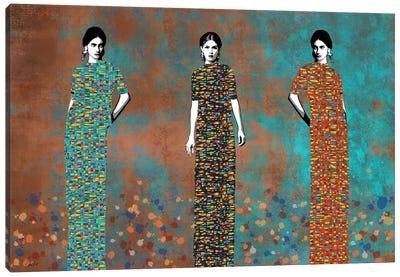 Three Feaces Canvas Art Print