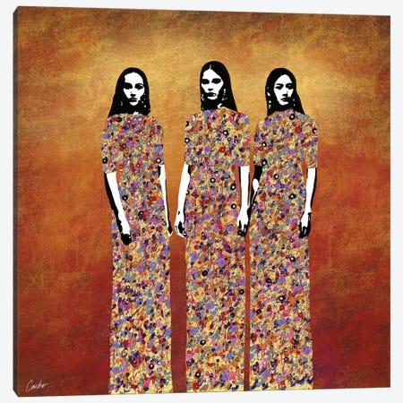 Three Graces Canvas Print #JSC35} by Jose Cacho Canvas Art