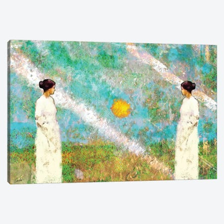 Waitng For The Sunrise Canvas Print #JSC37} by Jose Cacho Canvas Art