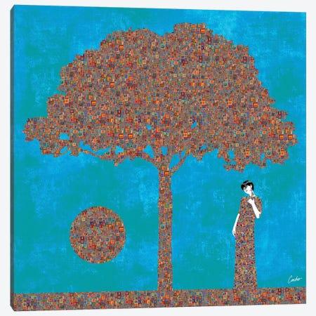 Think Again Canvas Print #JSC47} by Jose Cacho Canvas Print
