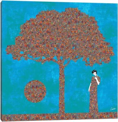 Think Again Canvas Art Print