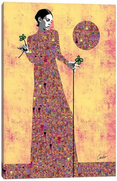 Offering Beauty Canvas Art Print