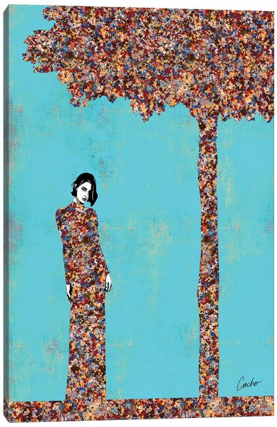Expert Flirting Canvas Art Print