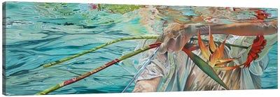 In A Strange Sea Canvas Art Print
