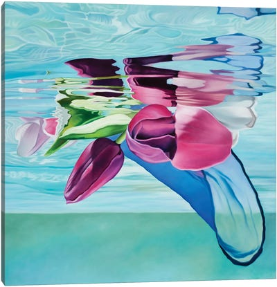 Joyful Calm Canvas Art Print