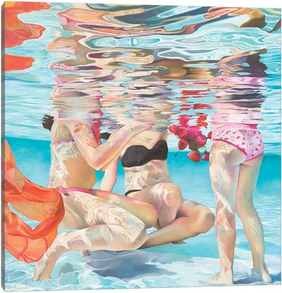 Maria Canvas Art Print