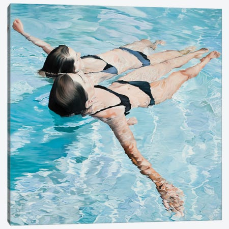 Subtle And Sweet Silence Canvas Print #JSD39} by Josep Moncada Canvas Artwork