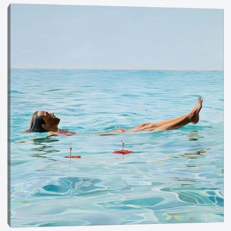 Calm Canvas Print #JSD6} by Josep Moncada Canvas Art Print