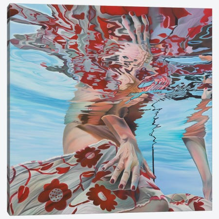 Clavellina Canvas Print #JSD7} by Josep Moncada Canvas Print