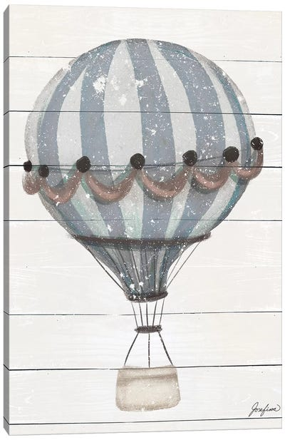 Hot Air Balloon Adventure Canvas Art Print