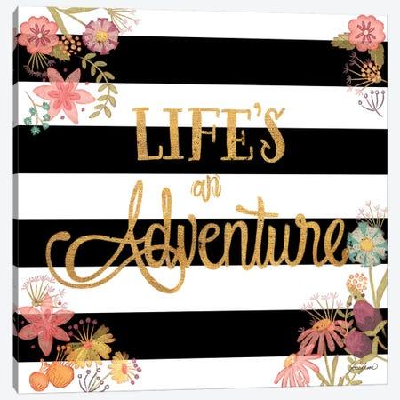 Life's an Adventure Canvas Print #JSF17} by Josefina Canvas Art Print
