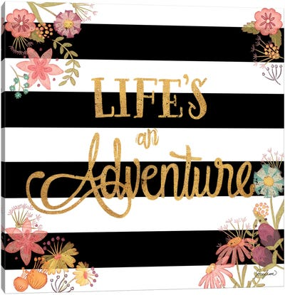 Life's an Adventure Canvas Art Print