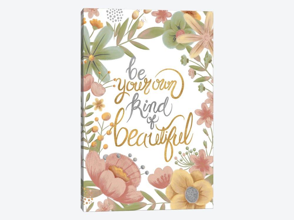 You're Beautiful (Pastels) by Josefina 1-piece Canvas Art