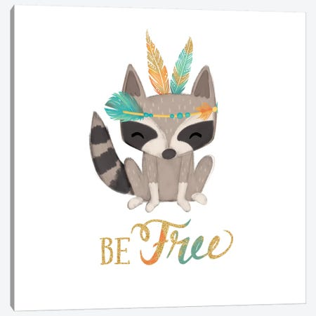 Be Free Canvas Print #JSF6} by Josefina Canvas Print