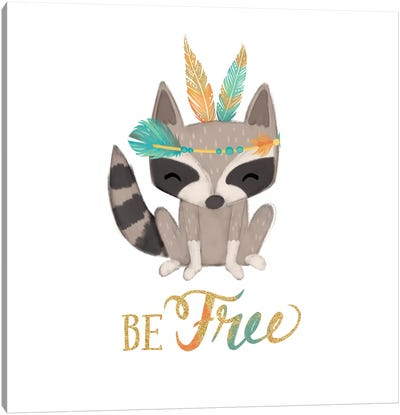Be Free Canvas Art Print