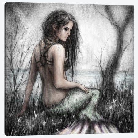 Mermaid's Rest Canvas Print #JSG14} by Justin Gedak Canvas Artwork
