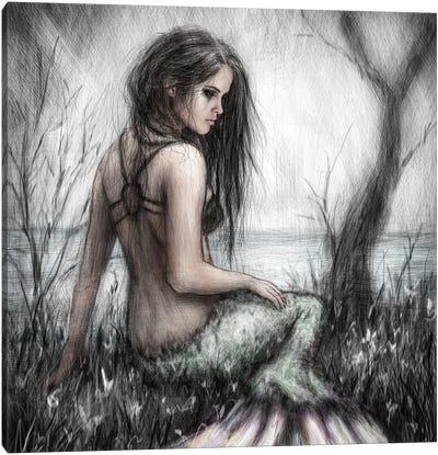 Mermaid's Rest Canvas Art Print