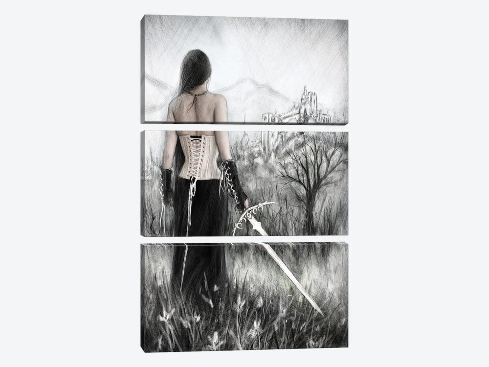 Once Innocent by Justin Gedak 3-piece Canvas Wall Art