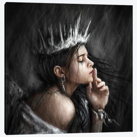 Queen Of Secrets Canvas Print #JSG18} by Justin Gedak Canvas Print
