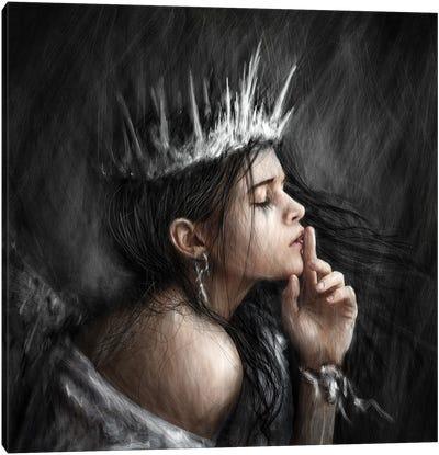 Queen Of Secrets Canvas Art Print