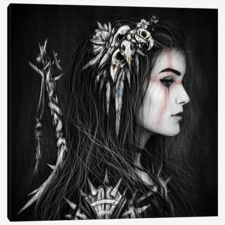 Skull Canvas Print #JSG22} by Justin Gedak Canvas Wall Art
