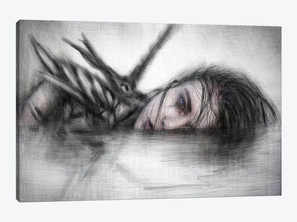 Unclean by Justin Gedak 1-piece Canvas Wall Art