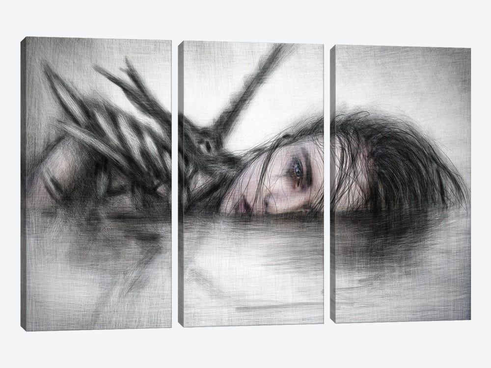 Unclean by Justin Gedak 3-piece Canvas Art