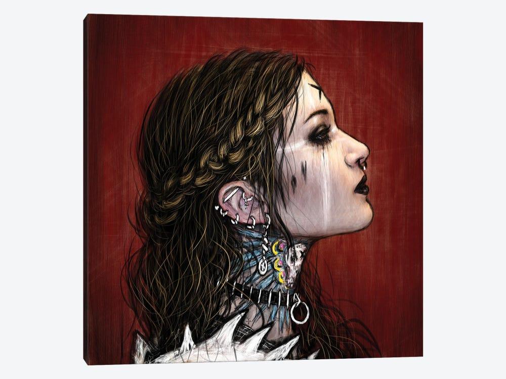 X by Justin Gedak 1-piece Canvas Wall Art