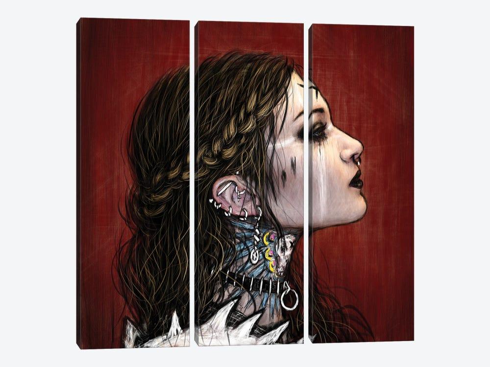 X by Justin Gedak 3-piece Canvas Wall Art