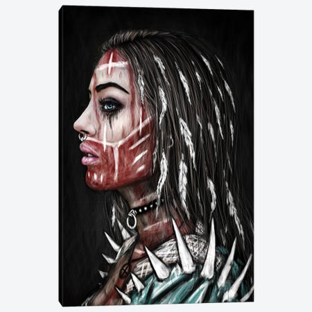 Huntress Canvas Print #JSG5} by Justin Gedak Canvas Wall Art