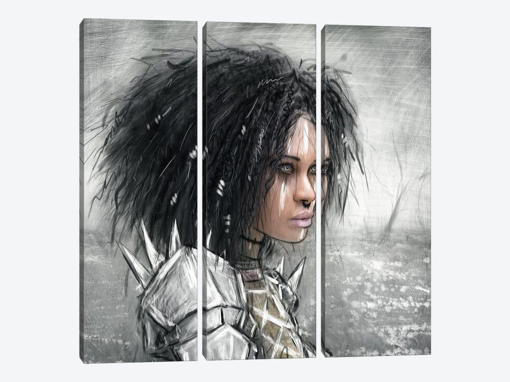 I Will Not Return by Justin Gedak 3-piece Canvas Artwork