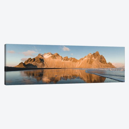 Golden Mountain Canvas Print #JSH15} by Joe Shutter Art Print