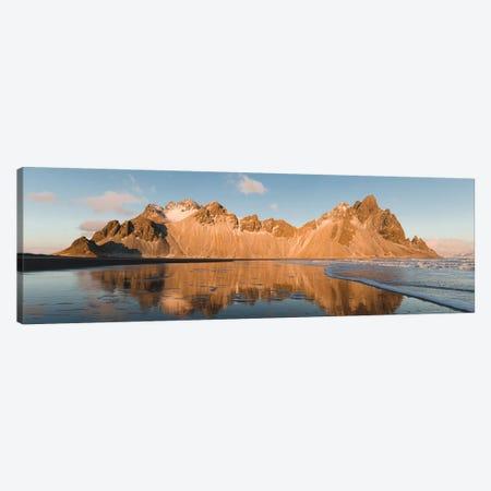 Golden Mountain 3-Piece Canvas #JSH15} by Joe Shutter Art Print