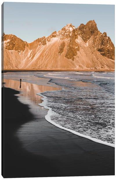 Golden Shore Canvas Art Print