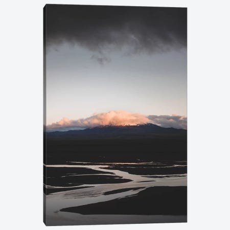 Hekla By Sunset Canvas Print #JSH17} by Joe Shutter Art Print
