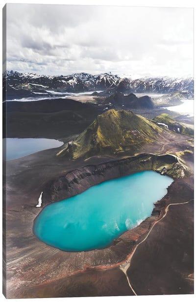Highland Blue Canvas Art Print