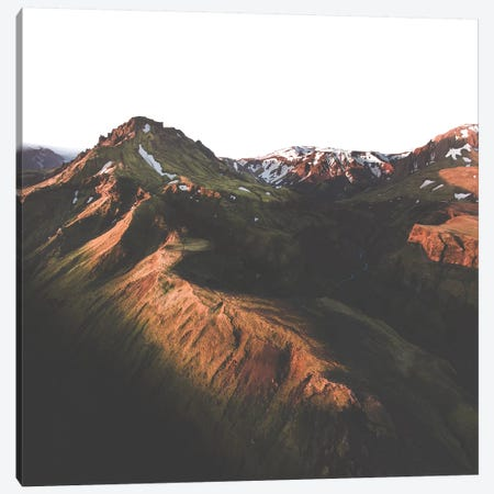Morning Ridge Canvas Print #JSH20} by Joe Shutter Canvas Print
