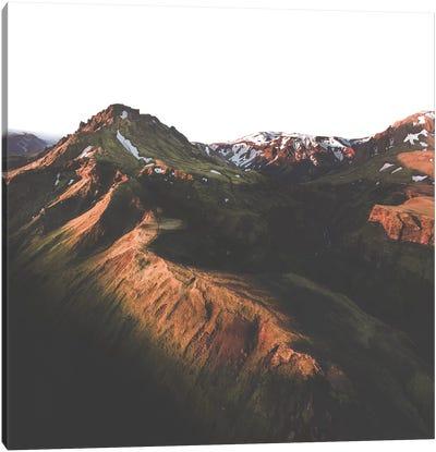 Morning Ridge Canvas Art Print
