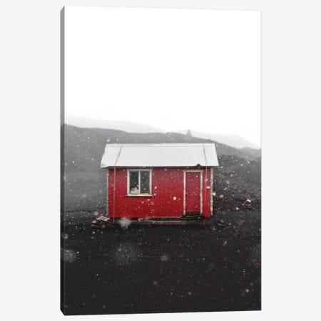 The Red House Canvas Print #JSH36} by Joe Shutter Art Print