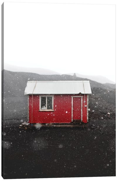 The Red House Canvas Art Print