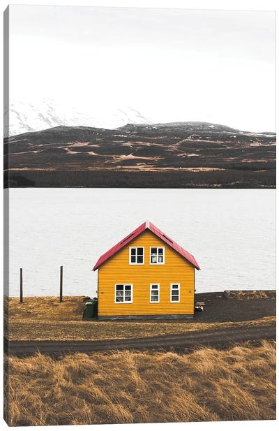 The Yellow House Canvas Art Print
